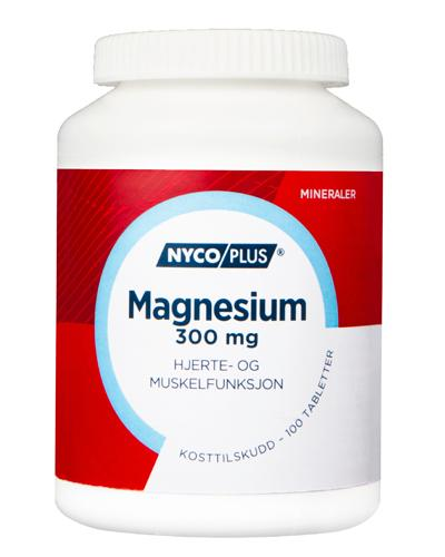 Nycoplus Magnesium 300mg tabletter 100stk