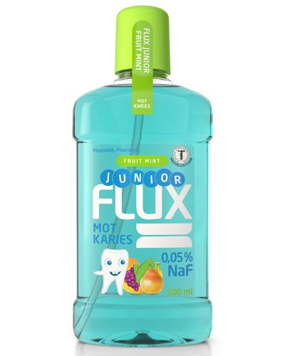 Flux Junior fluorskyll 0,05% fruktmint 500ml