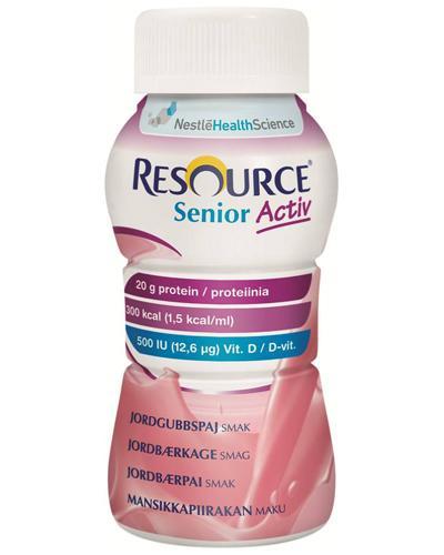 Resource Senior Activ næringsdrikk jordbær 4x200ml