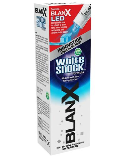 Blanx White Shock tannkrem med LED-lys 50ml