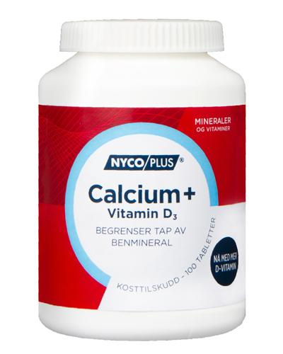 Nycoplus Calcium med D3-vitamin tabletter 100stk