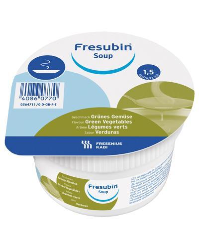 Fresubin Soup næringstilskudd grønne grønnsaker 4x200ml