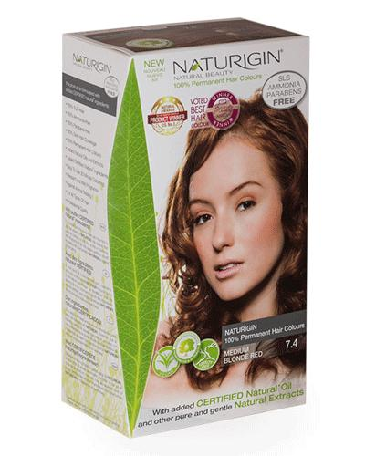Naturigin hårfarge 7.4 Medium Copper Blonde 1stk