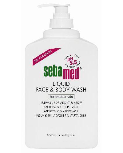 Sebamed liquid face & body wash 400ml