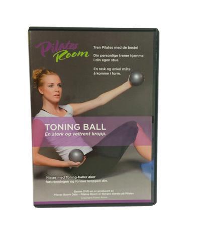 Pilates room toning ball dvd 1stk