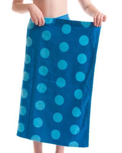 Skiftehåndkle 70x140cm blå 1stk