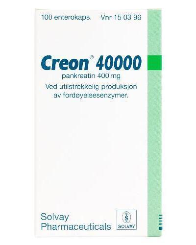 Creon 40000 Enterokapsel, hard 100stk